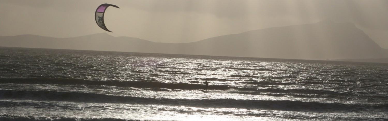 Kite Surfing Claggan Island